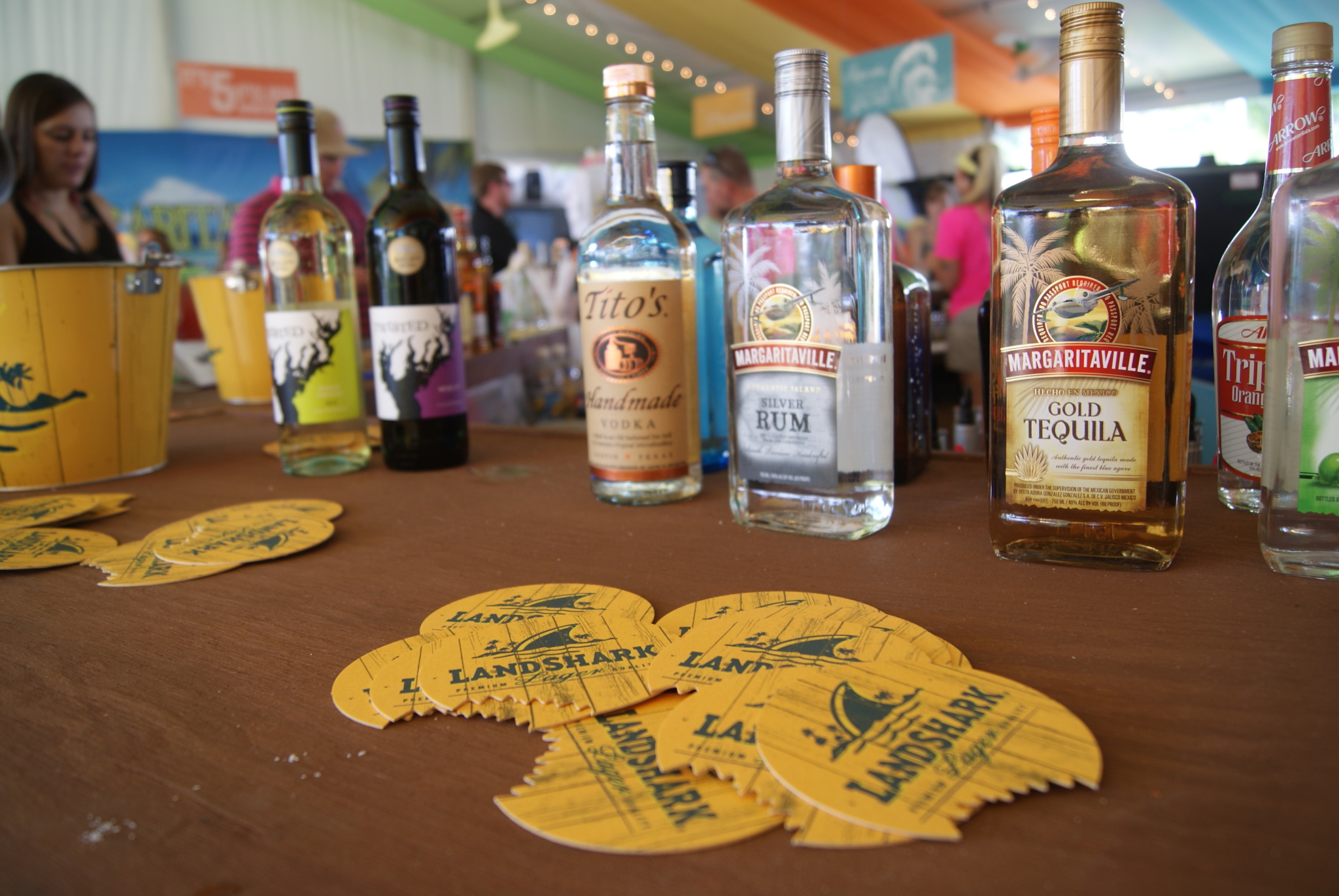 Margaritaville's Hospitality Tent at the Wyndham Championship